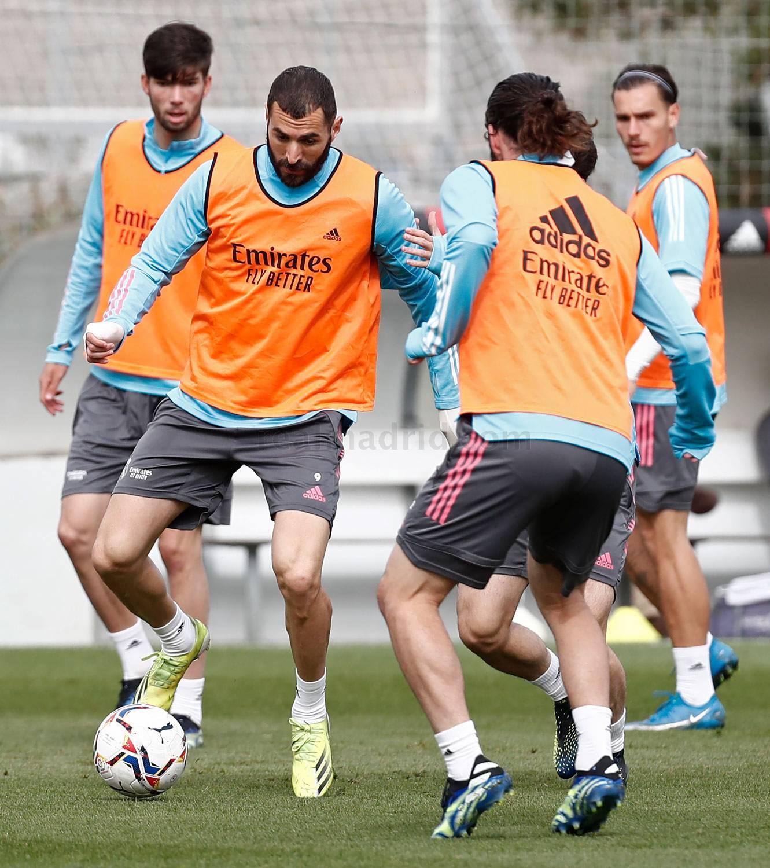 Entrenamiento del Real Madrid  - 18-05-2021
