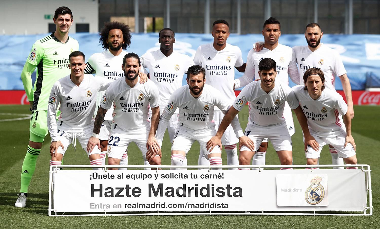 Real Madrid-Éibar - 22-04-2021