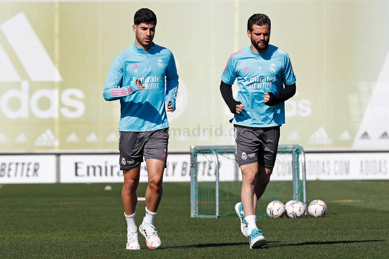 Entrenamiento del Real Madrid  - 13-05-2021