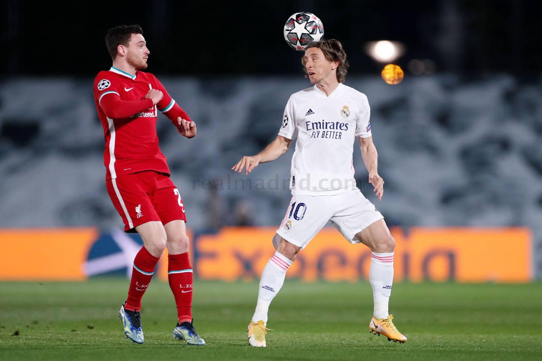 Real Madrid - Liverpool - 19-04-2021