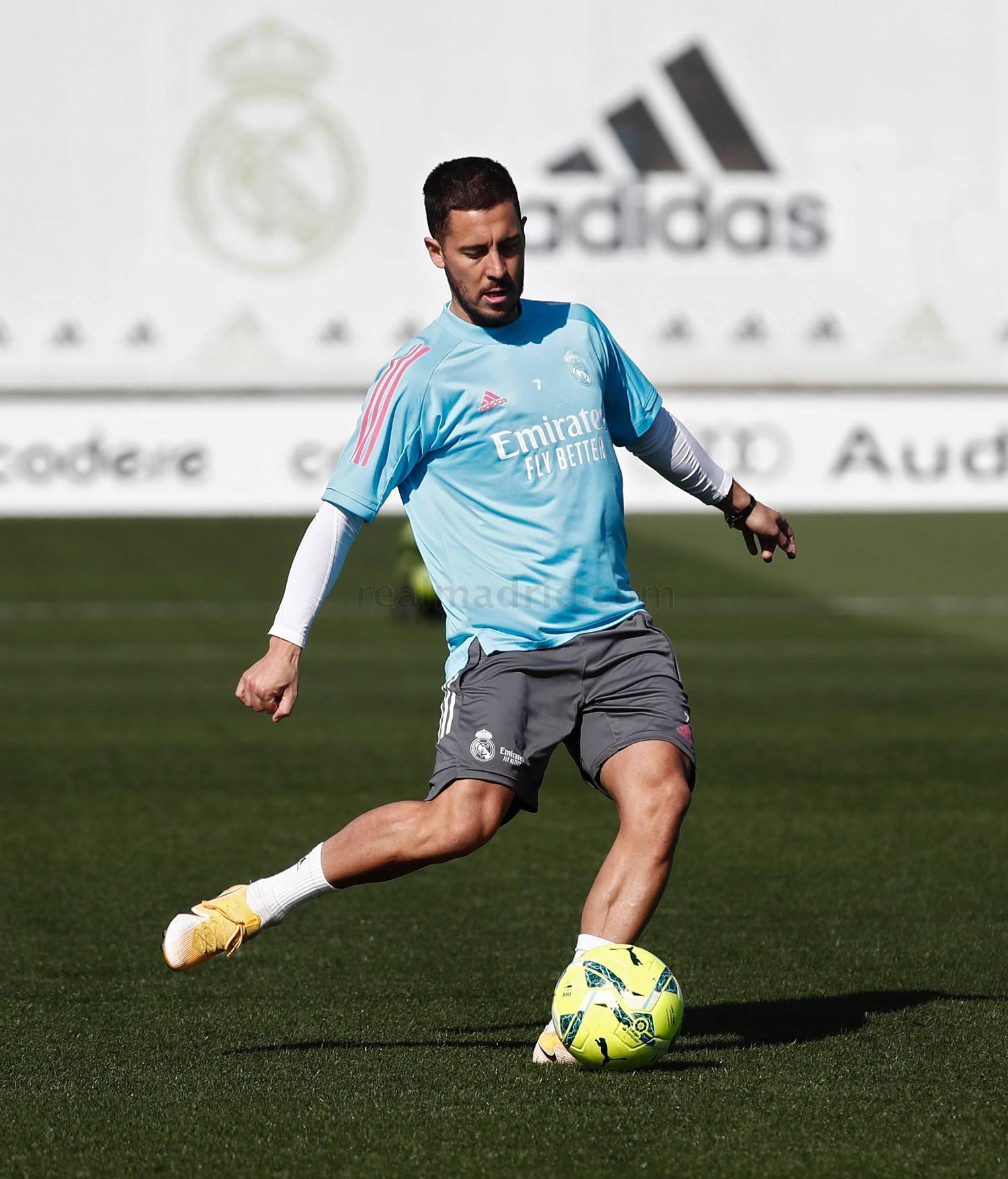 Entrenamiento del Real Madrid  - 23-04-2021