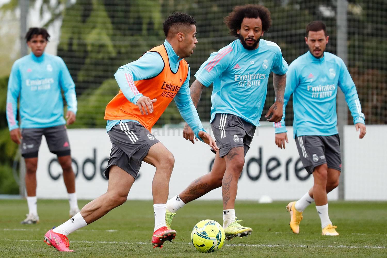 Entrenamiento del Real Madrid  - 22-04-2021