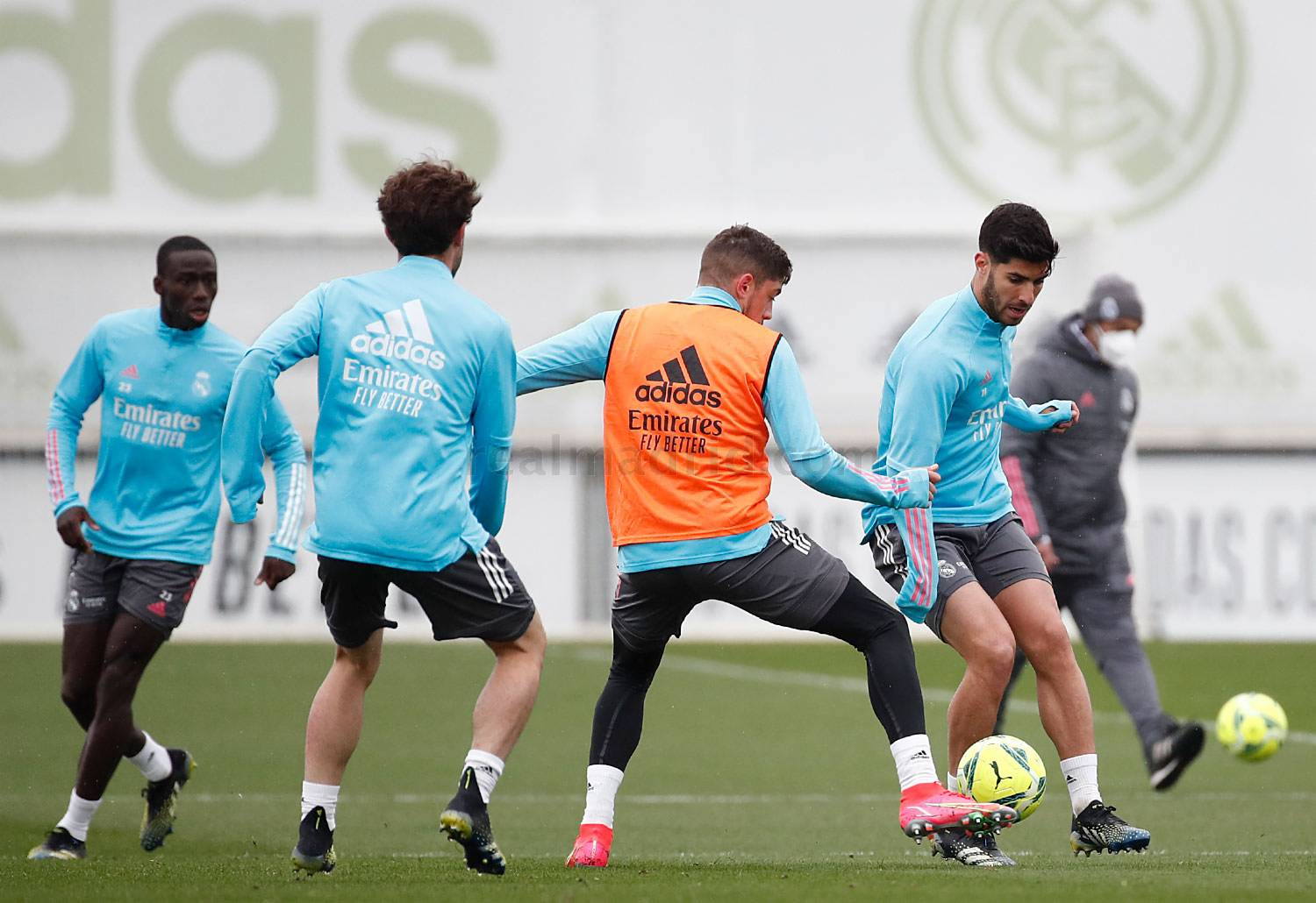 Entrenamiento del Real Madrid  - 15-05-2021