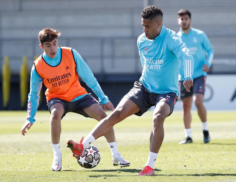 Entrenamiento del Real Madrid  - 15-05-2021
