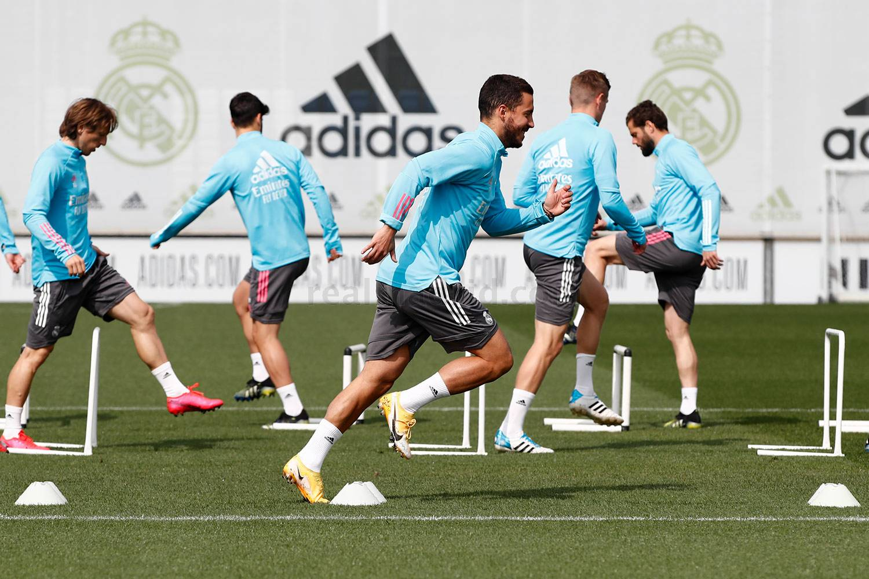 Entrenamiento del Real Madrid - 17-04-2021