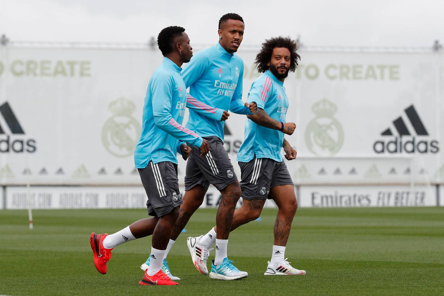 Entrenamiento del Real Madrid  - 11-05-2021