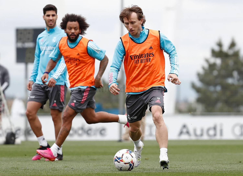 Entrenamiento del Real Madrid  - 16-06-2021