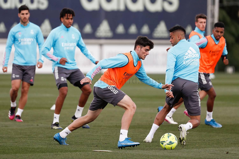 Entrenamiento del Real Madrid  - 24-06-2021