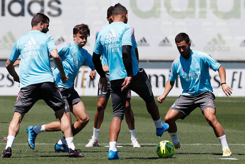 Entrenamiento del Real Madrid  - 26-09-2021