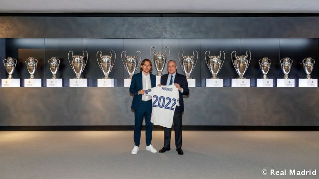 Video: Luka Modrić, renovado hasta 2022