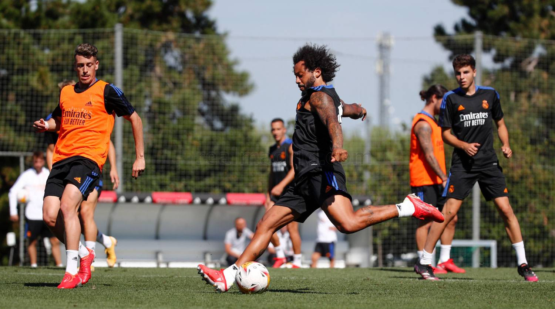 Entrenamiento del Real Madrid  - 25-09-2021