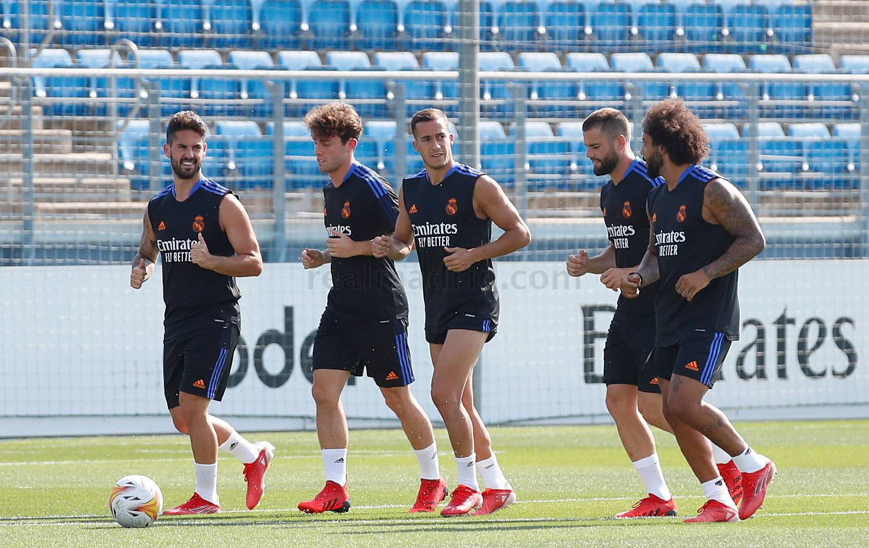 Entrenamiento del Real Madrid  - 26-07-2021