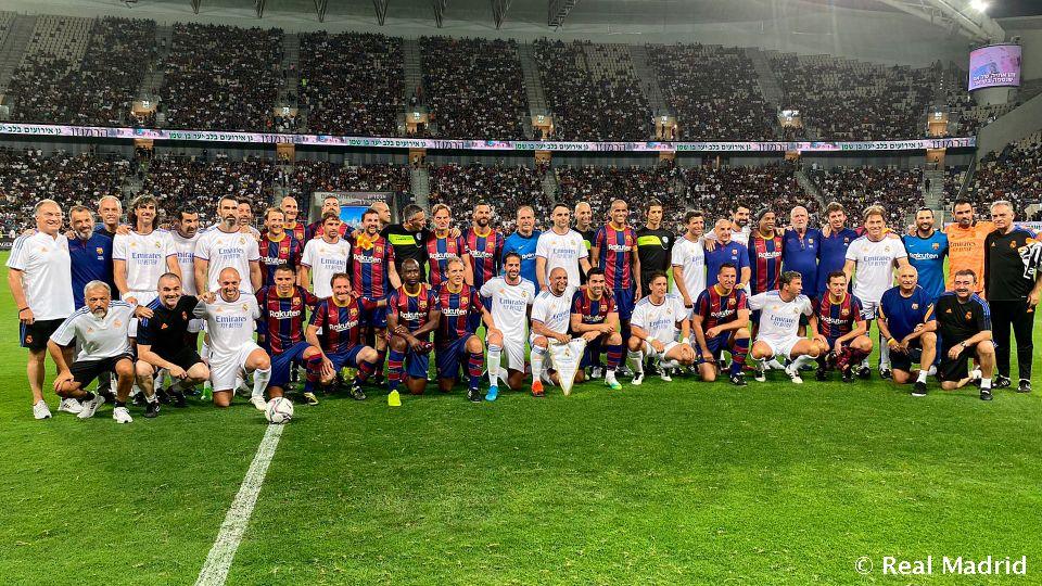 2-3: Real Madrid claim spoils in legends' El Clásico in Tel Aviv | Real Madrid CF