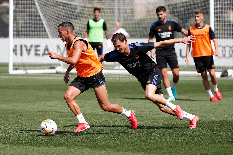 Entrenamiento del Real Madrid  - 28-07-2021