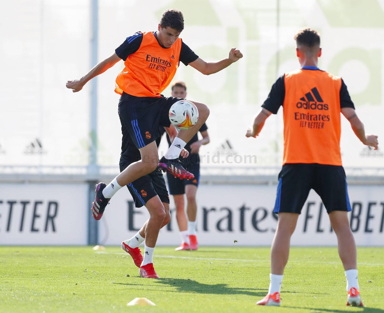 Entrenamiento del Real Madrid  - 24-07-2021