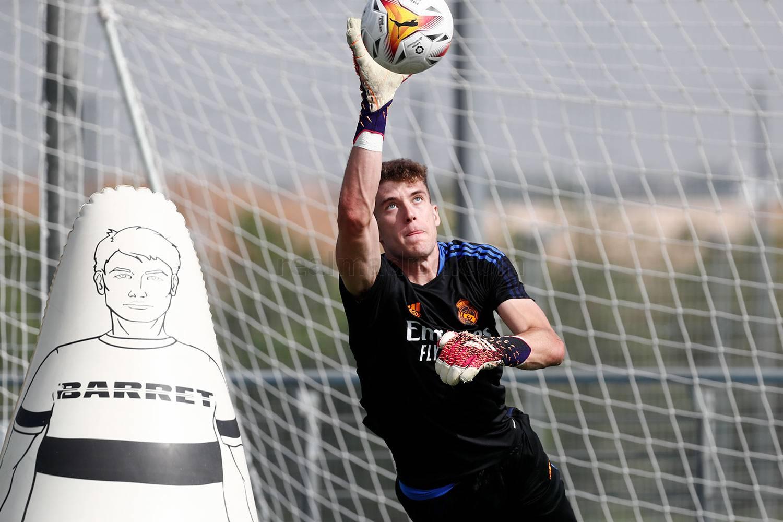 Entrenamiento del Real Madrid  - 21-09-2021