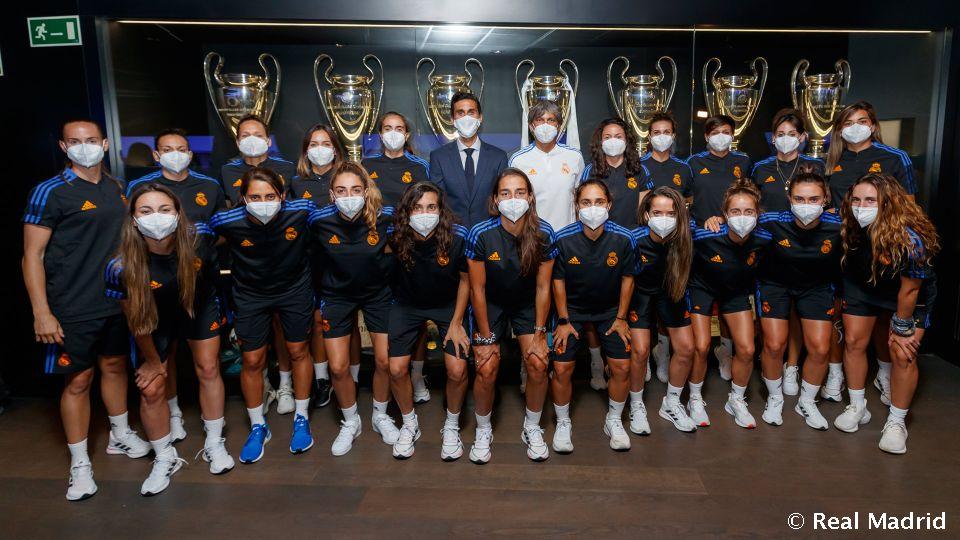 Video: Real Madrid women's squad take the Bernabéu Tour