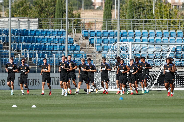 Entrenamiento del Real Madrid  - 18-09-2021