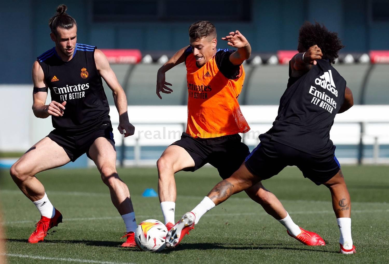 Entrenamiento del Real Madrid  - 22-09-2021