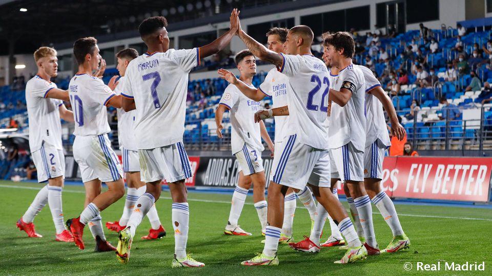 Video: 4-0: Goleada del Castilla en su vuelta en Liga al Di Stéfano