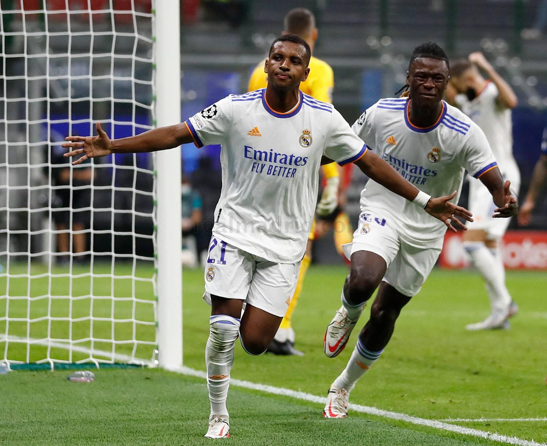 Rodrygo's super strike sinks Inter