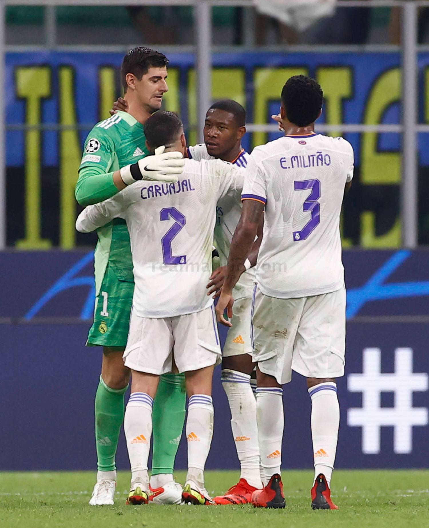 Inter de Milán-Real Madrid - 17-10-2021