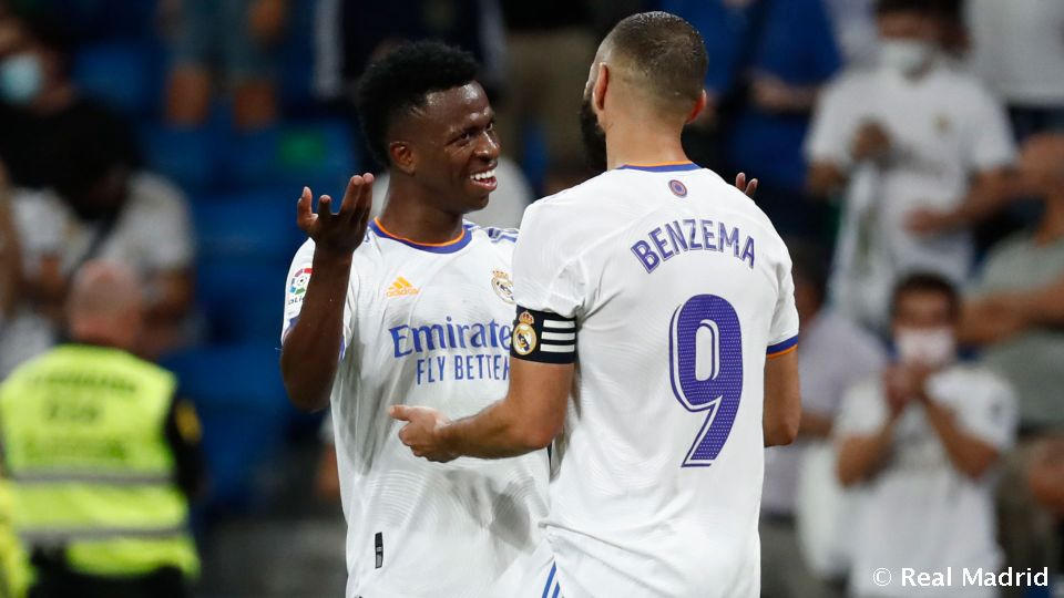 Video: The 11 goals from the Benzema-Vinicius duo
