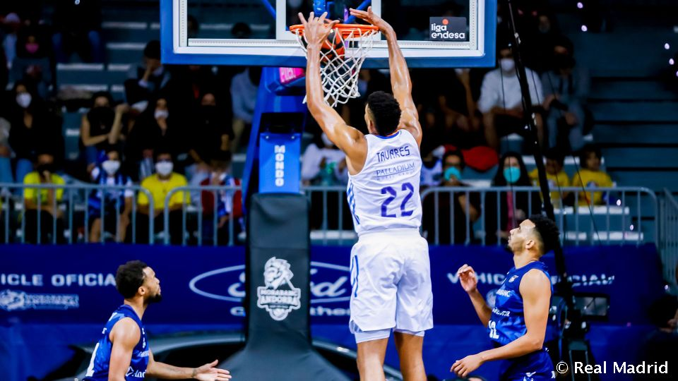 Video: 58-86: Real Madrid wins in style against MoraBanc Andorra on first road trip of league campaign