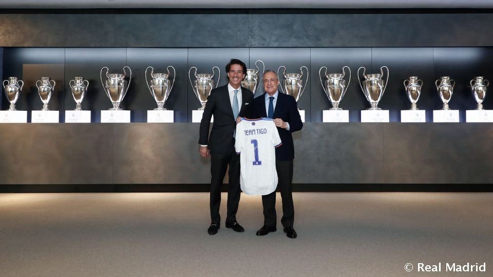 Video: The Real Madrid Foundation and Millicom-TIGO partner for social sports projects in Latin America