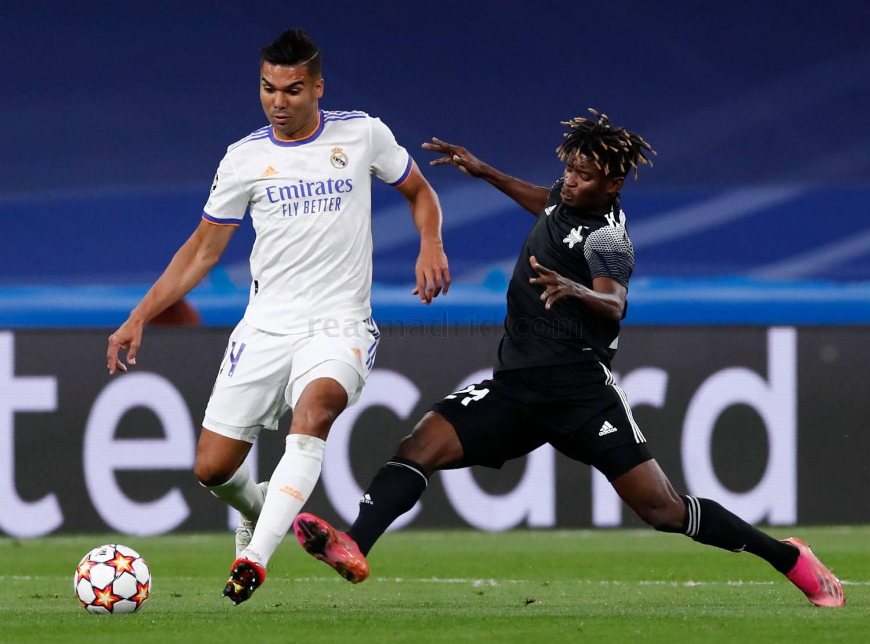 Real Madrid - Sheriff Tiraspol - 17-10-2021