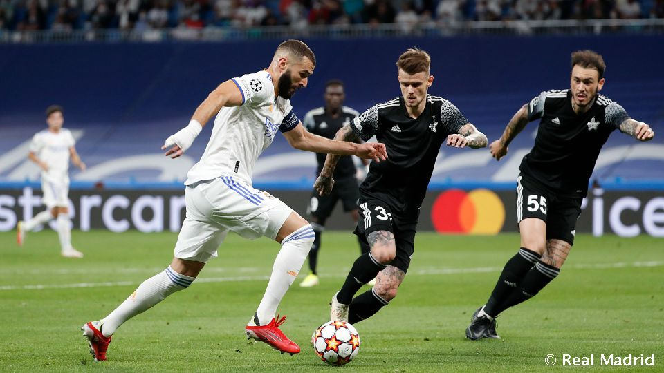 Video: Benzema moves into fourth place in all-time European Cup goal charts