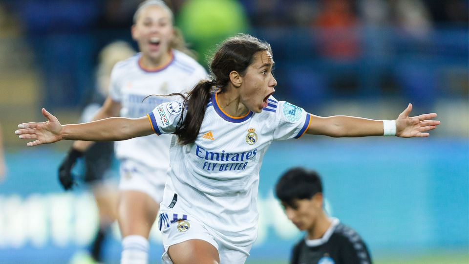 Video: 0-1: Real Madrid claim first win in Women's Champions League Group Stage