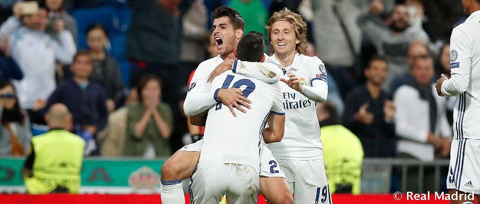 2-1: Un gol de Morata culmina la remontada en el último minuto