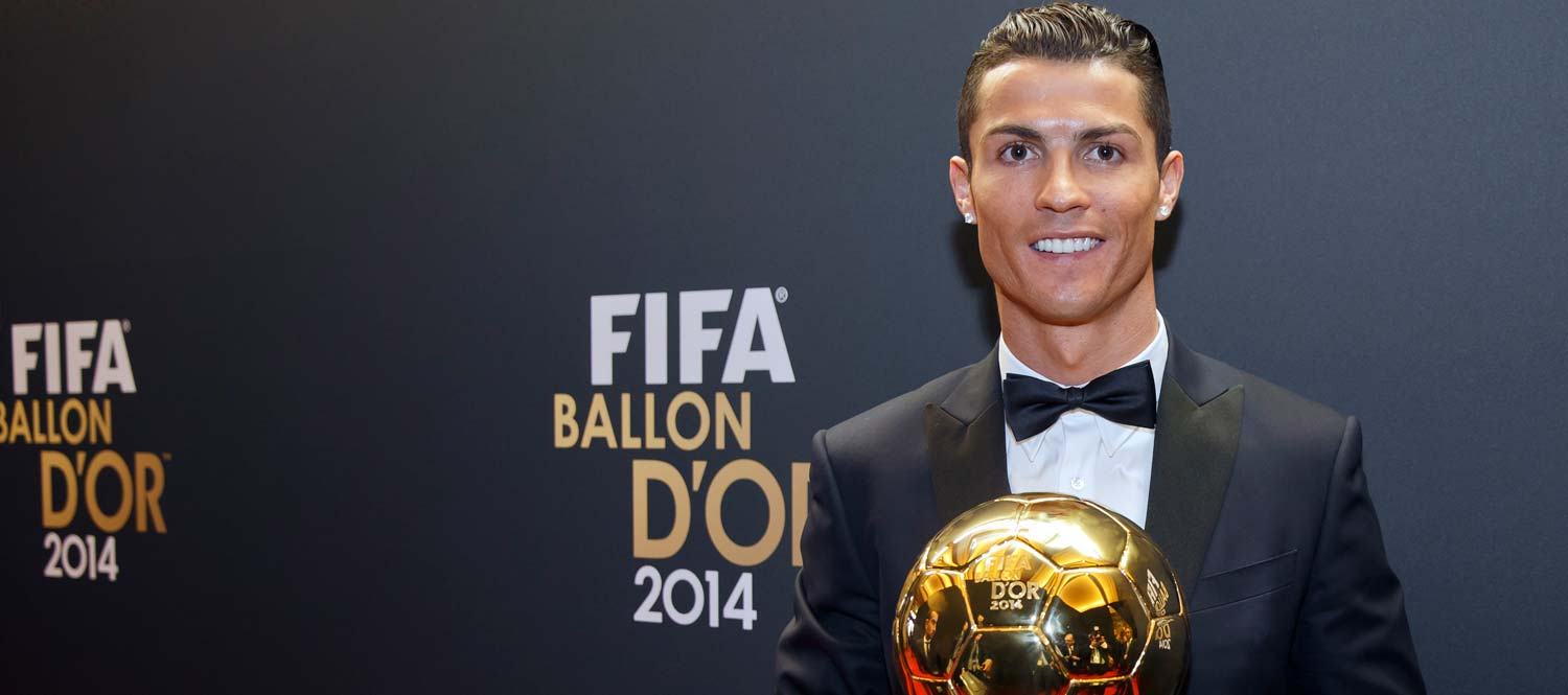 Cristiano Ronaldo Ballon D Or 2014 Real Madrid Cf