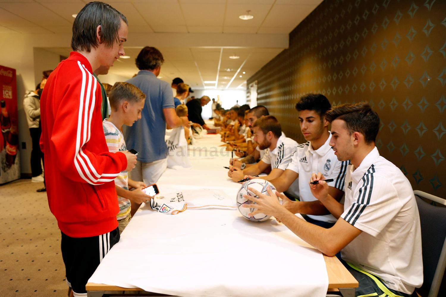 real madrid meet and greet