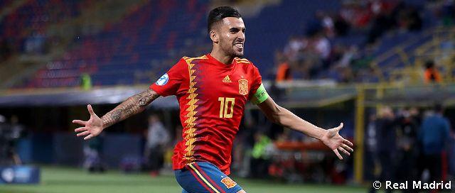 5-0: Sublime Ceballos free-kick in Spain Under-21s' win over ...