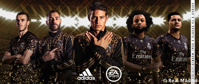 Adidas put on sale the Real Madrid jersey designed in collaboration with EA Sports