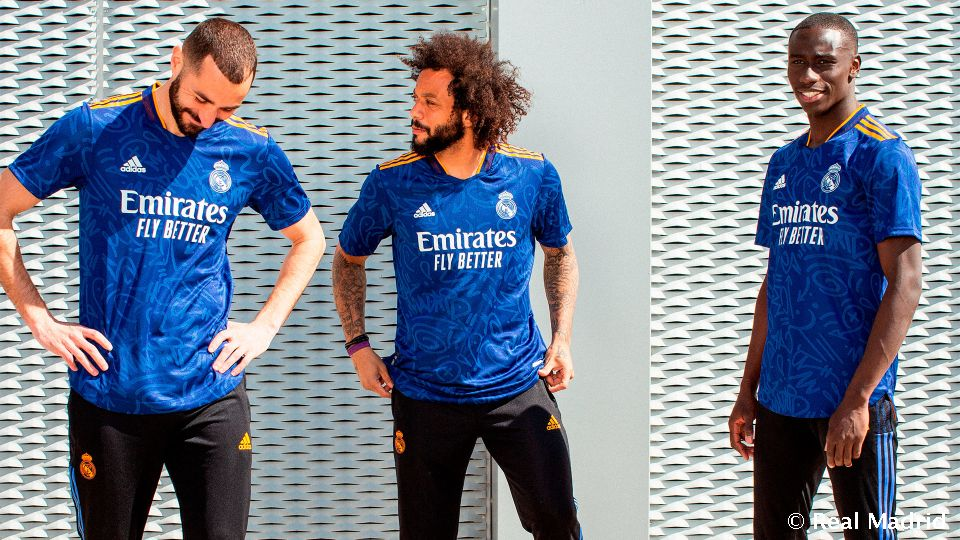 Real Madrid and adidas unveil the second jersey for 2021-22 season