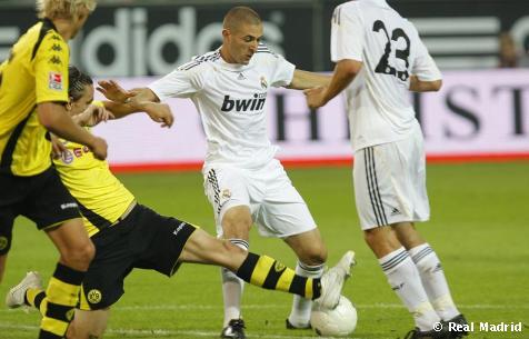 Dortmund 0-5 RealMadrid [გოლები]