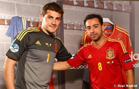 Casillas y Xavi