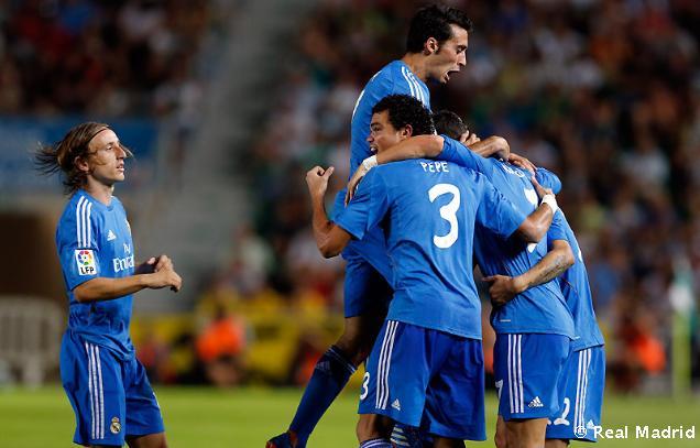 Elche CF - Real Madrid C.F. 1:2