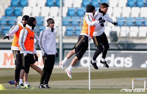 ريال مدريد سيعود الى التدريب اليوم الساعة 11:00