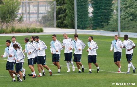 Real Madrid Training [Video]