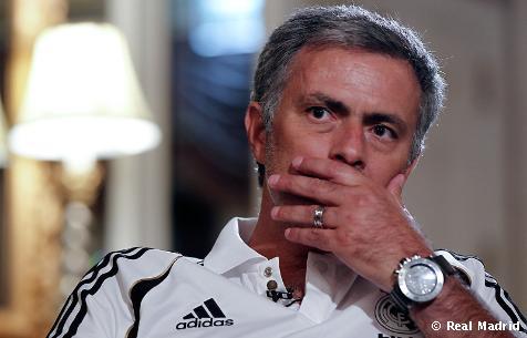 Entrevista a Mourinho
