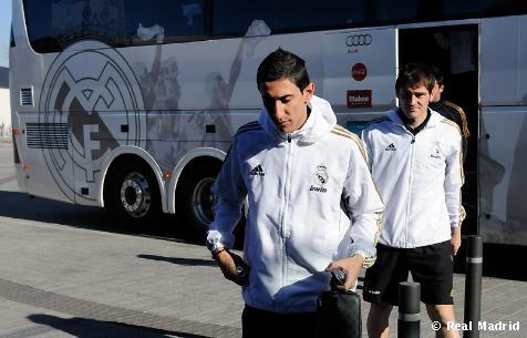 الفريق انتقل الفالديبياس تدريبية مباراة