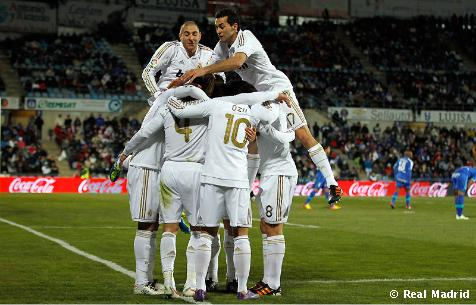 الفريق الوحيد مبارياته الليغا 2012
