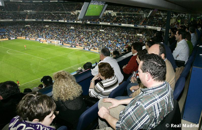 Estadio del real madrid santiago bernab u taringa - Palco santiago bernabeu ...