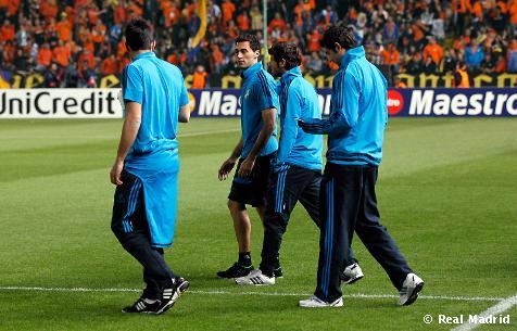 გუნდი სტადიონზეა