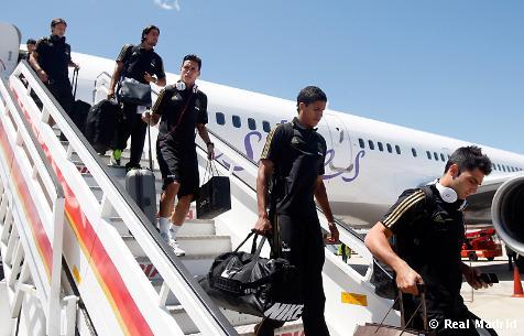Llegada del Real Madrid a España