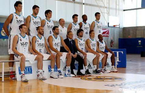 Making of foto oficial de baloncesto